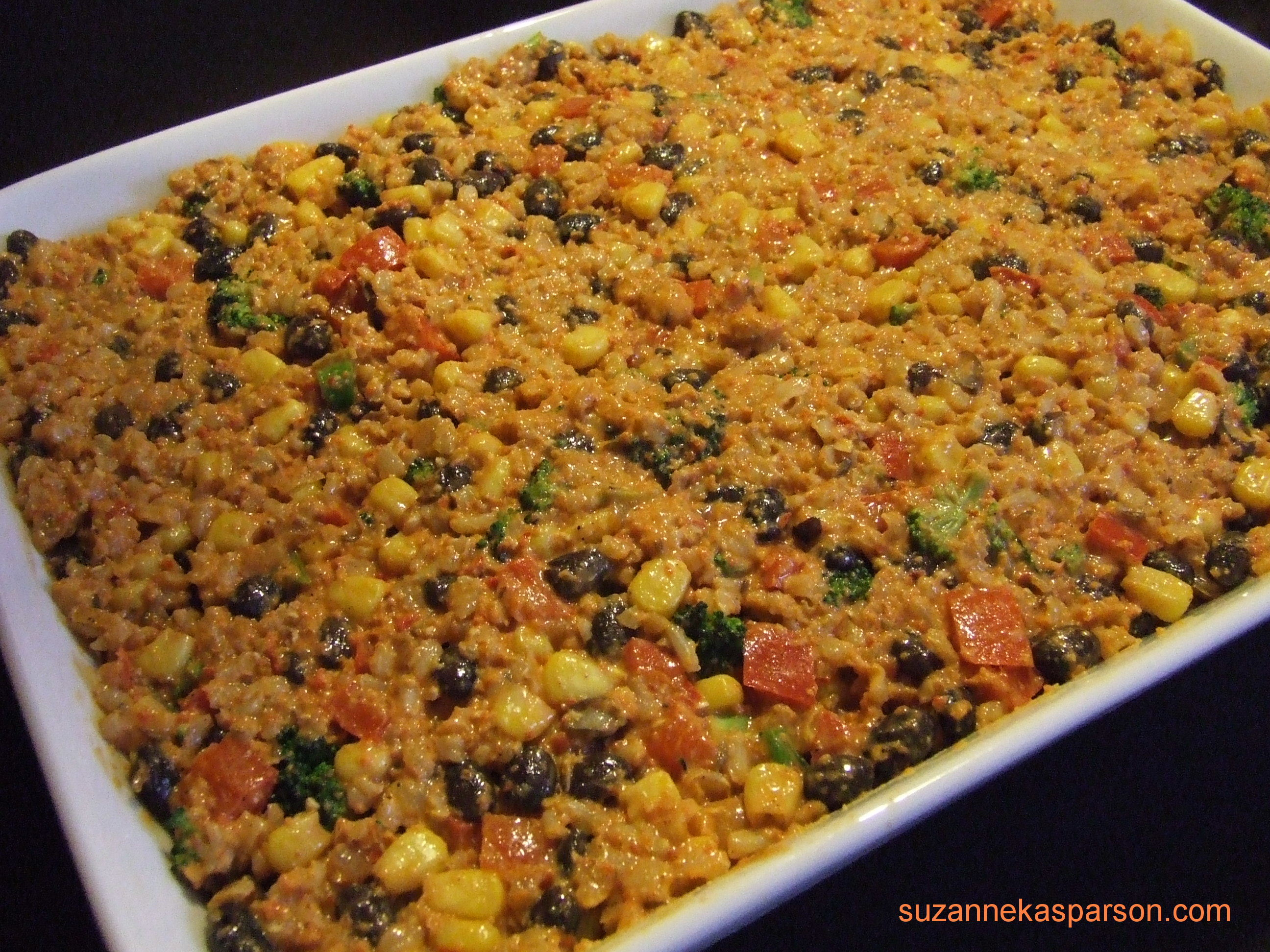 ... mexican rice casserole allfreecasserolerecipes com mexican rice